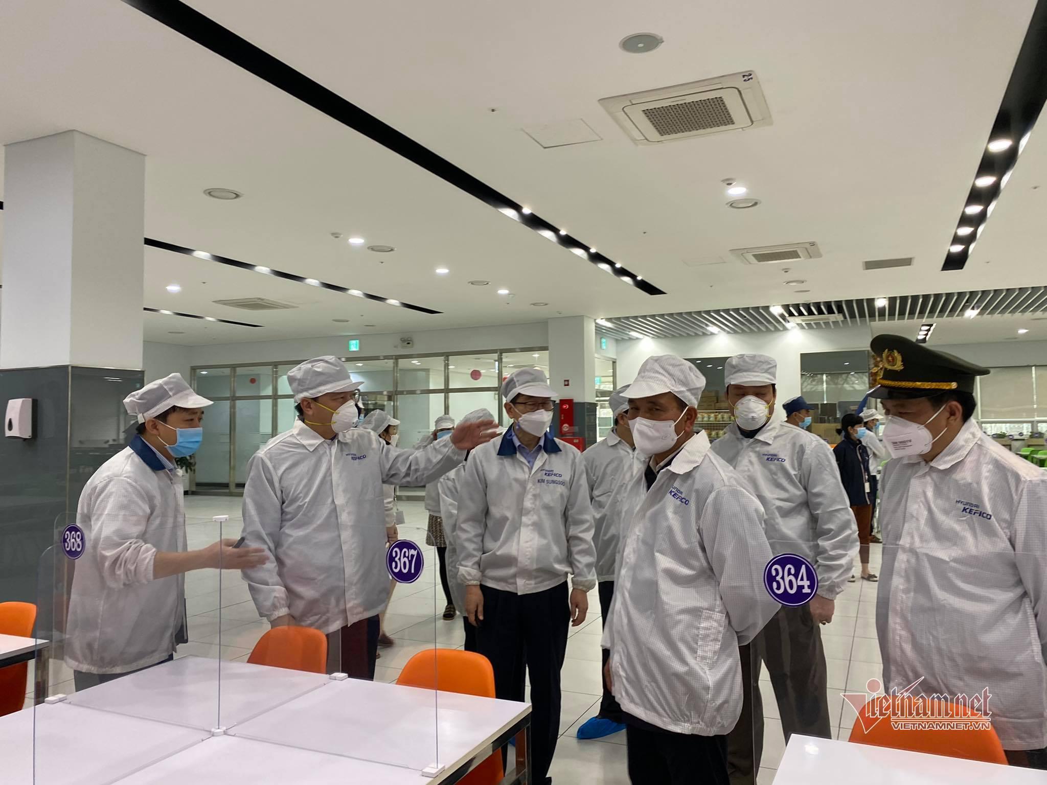 Bí thư Hải Dương kêu gọi 19.000 công nhân ngoại tỉnh không về quê ăn Tết