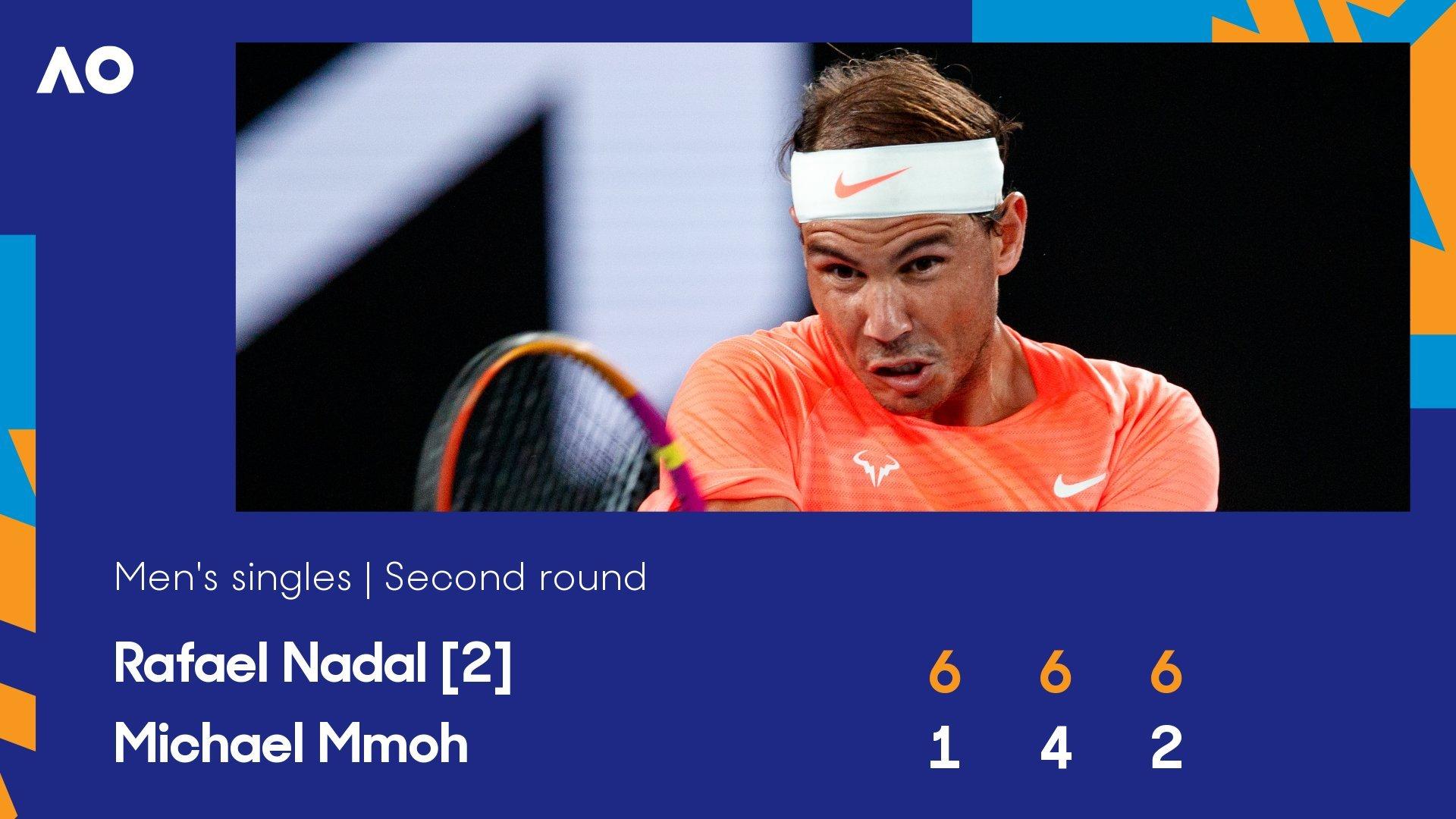 Australian Open ngày 4: Nadal tốc hành vào vòng 3