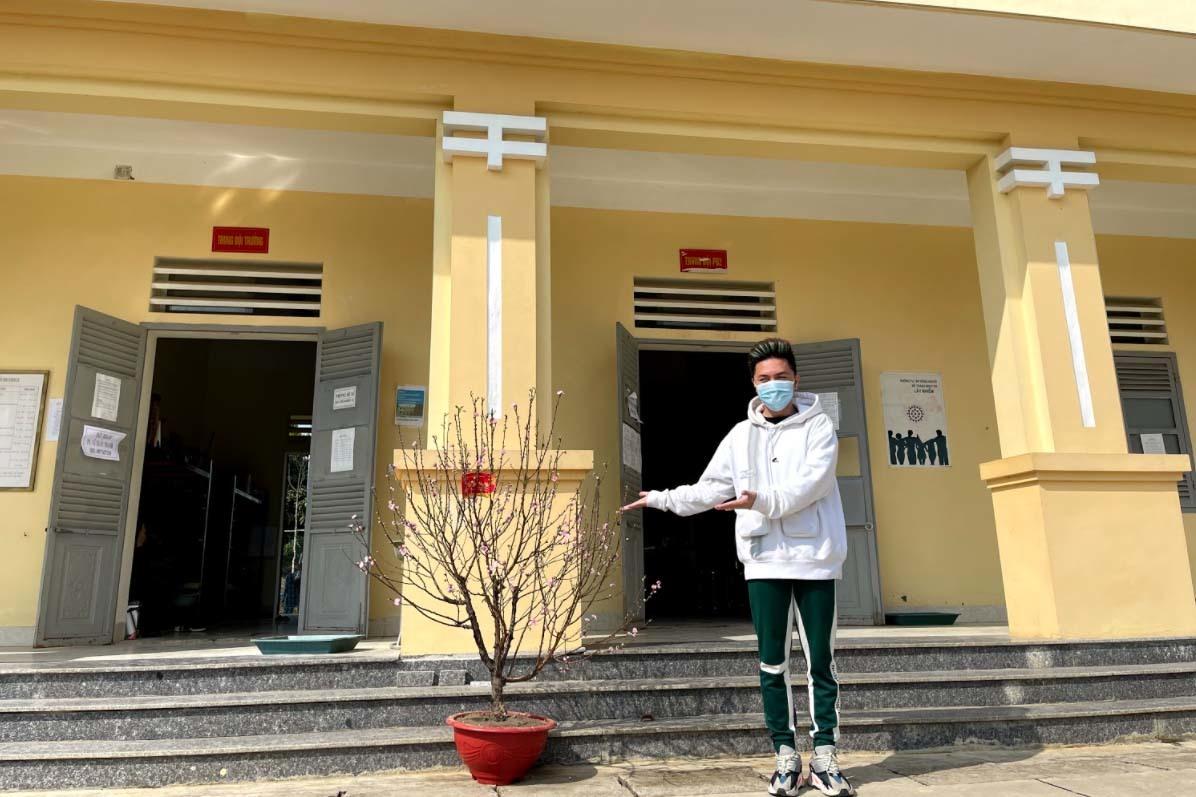 Giao thừa đặc biệt của ca sĩ Minh Vương M4U trong khu cách ly