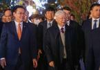 """Tổng Bí thư, Chủ tịch nước chúc Hà Nội tiếp tục """"thắng to"""" trong năm mới"""