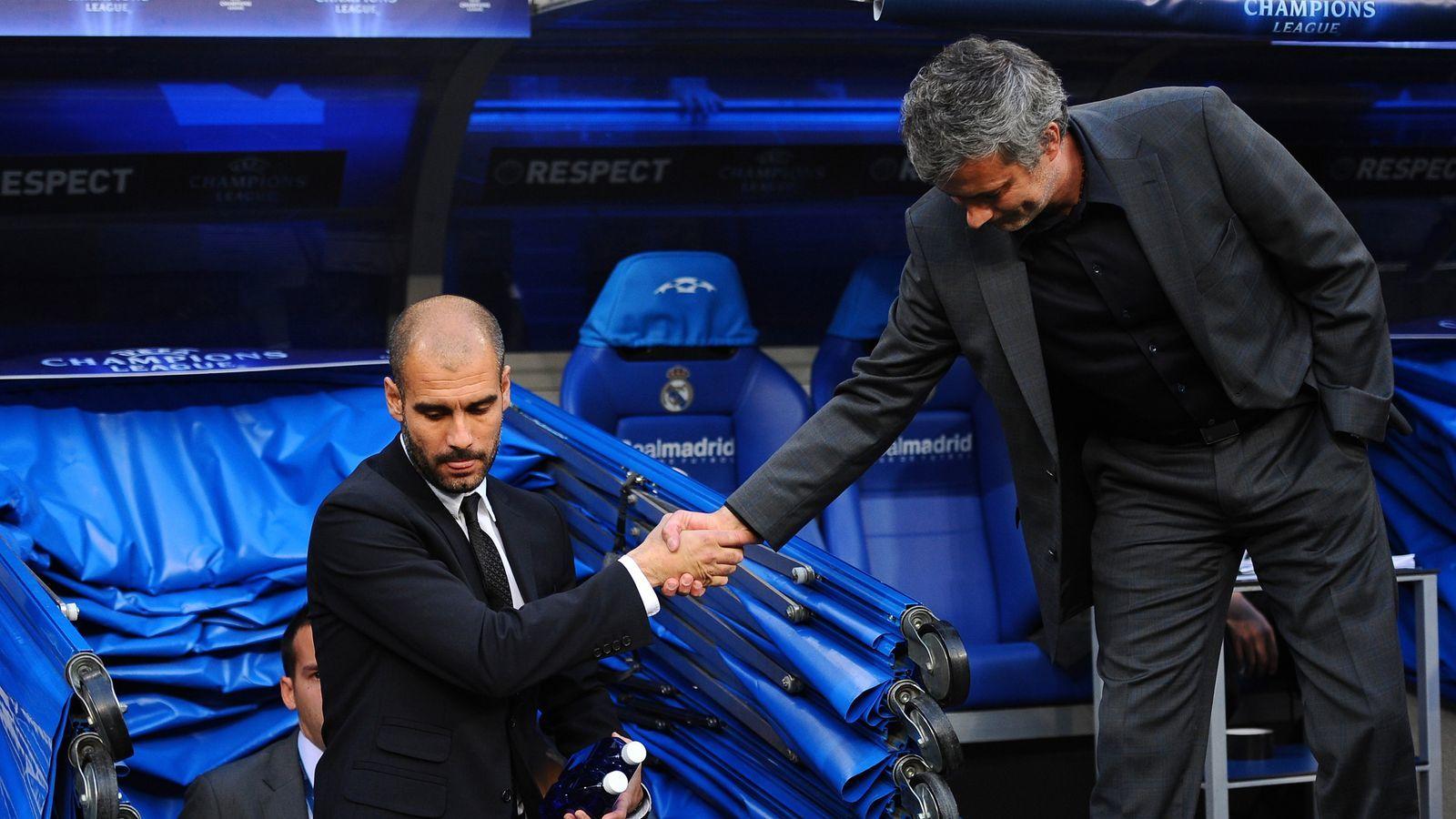Pep Guardiola vs Mourinho: Thiên tài đấu trí