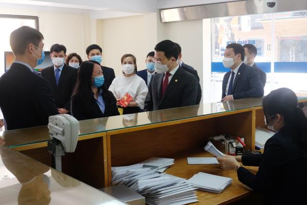 Bộ TT&TT kiểm tra công tác đảm bảo liên lạc Tết Tân Sửu 2021