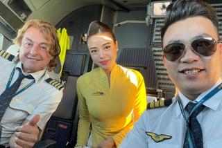 Tiếp viên hàng không và những hành trình bay xuyên Giao thừa