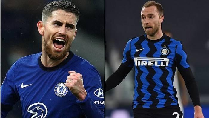MU trêu ngươi vụ Jadon Sancho, Chelsea đổi Jorginho lấy Eriksen