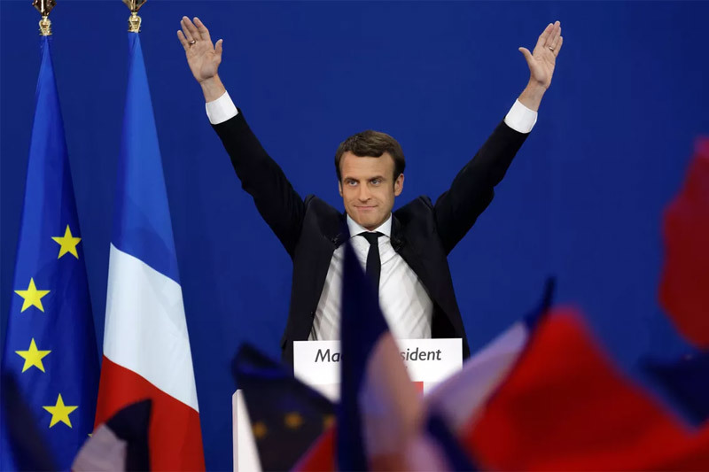 French President caused a