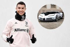 Ronaldo chi 223 tỷ đồng mua siêu xe Bugatti