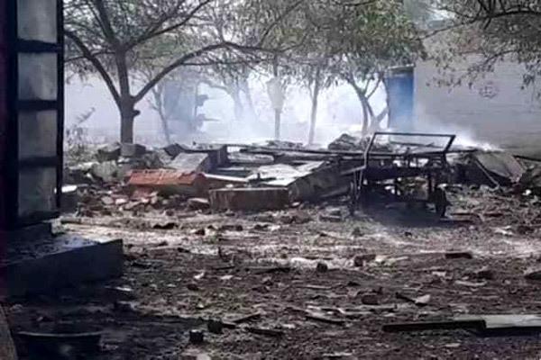 Nổ nhà máy pháo hoa ở Ấn Độ, 19 người chết