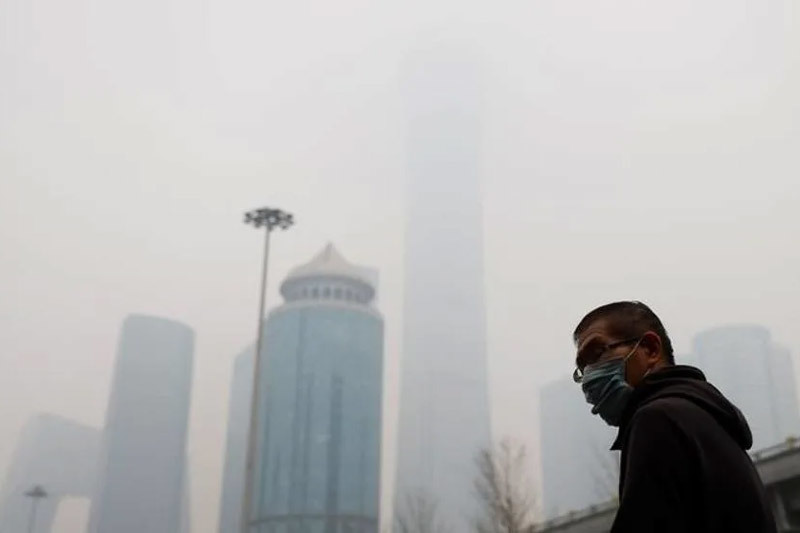 Bắc Kinh chìm trong sương mù ô nhiễm ngày đầu năm mới