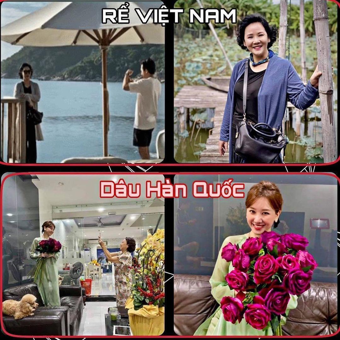 Bình An đọ vẻ đẹp trai với Thanh Sơn