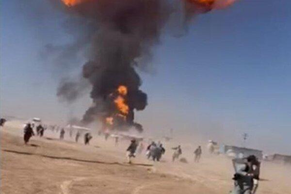 Nổ lớn ở biên giới Iran-Afghanistan, hàng chục người bị thương