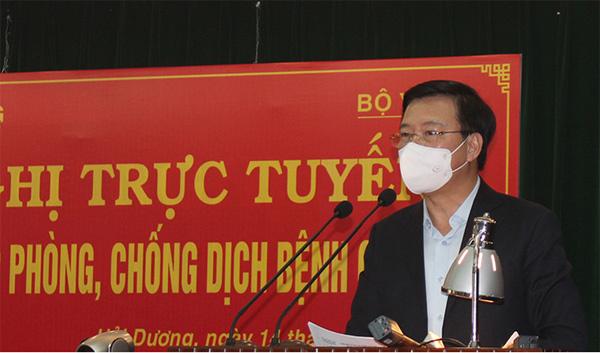 Bộ trưởng Y tế: Dịch ở Hải Dương khó lường và có thể kéo dài