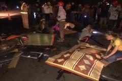 Xe máy va chạm trên quốc lộ, 4 thanh niên tử vong ở Gia Lai