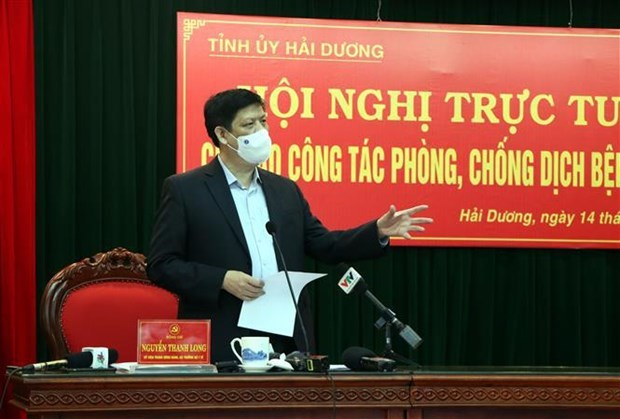 Hai Duong urged to implement COVID-19 combat measures on wider scale