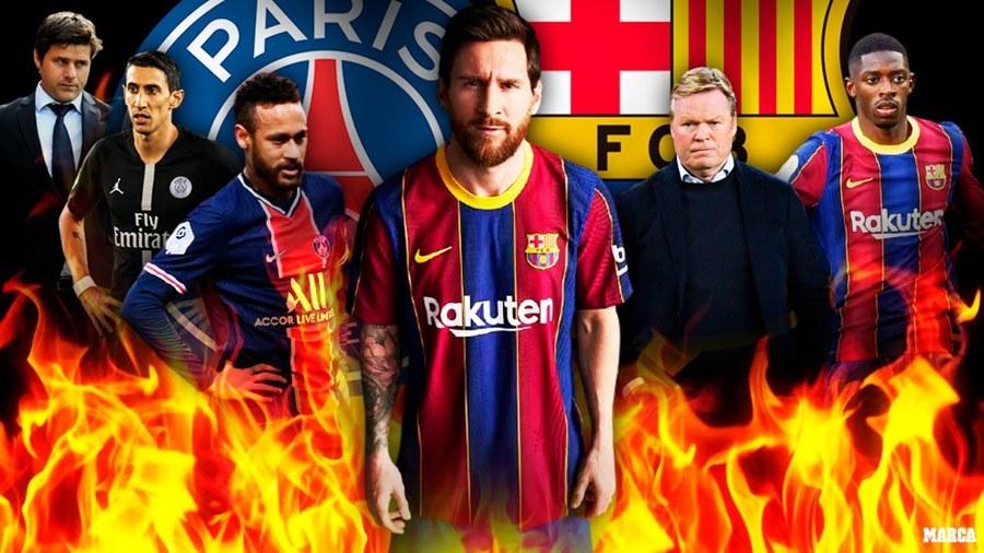 Xem trực tiếp Barca vs PSG ở kênh nào?