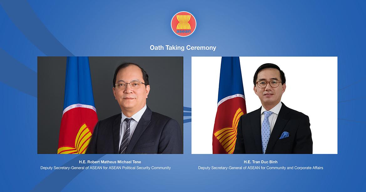 Đại sứ Trần Đức Bình nhậm chức Phó Tổng thư ký ASEAN