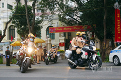 CSGT Hà Nội chủ động đón nhân dân về Thủ đô sau Tết an toàn