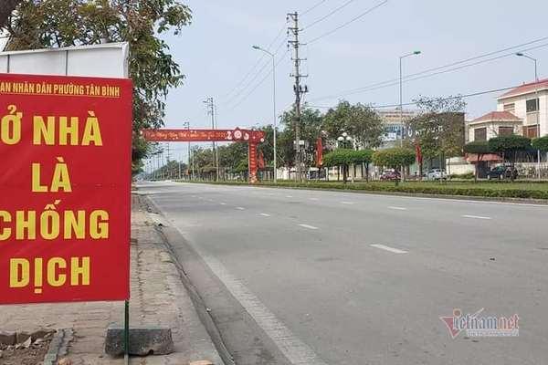 Ngày đầu cách ly xã hội, dân Hải Dương xin đi mua gạo cũng phải quay đầu