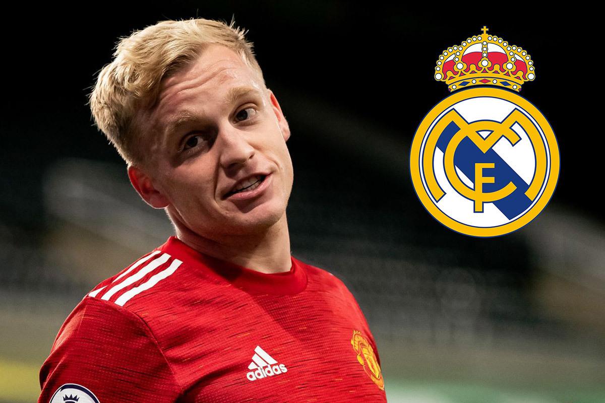 Van de Beek nhờ Real Madrid 'giải cứu'