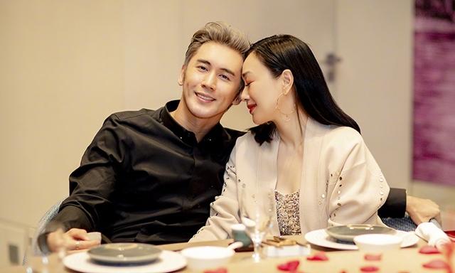 Mỹ nhân gốc Việt Chung Lệ Đề hạnh phúc bên chồng trẻ kém 12 tuổi