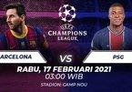 Trực tiếp Barca vs PSG: Messi đấu Mbappe