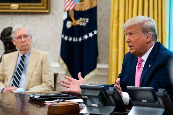 Ông Trump đòi thay lãnh đạo phe Cộng hòa tại thượng viện