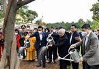 Tổng Bí thư, Chủ tịch nước trồng cây, tản bộ tại Hoàng Thành Thăng Long