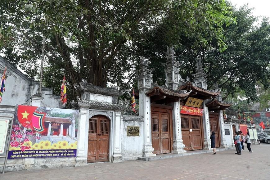 COVID-19,Hanoi,pagodas
