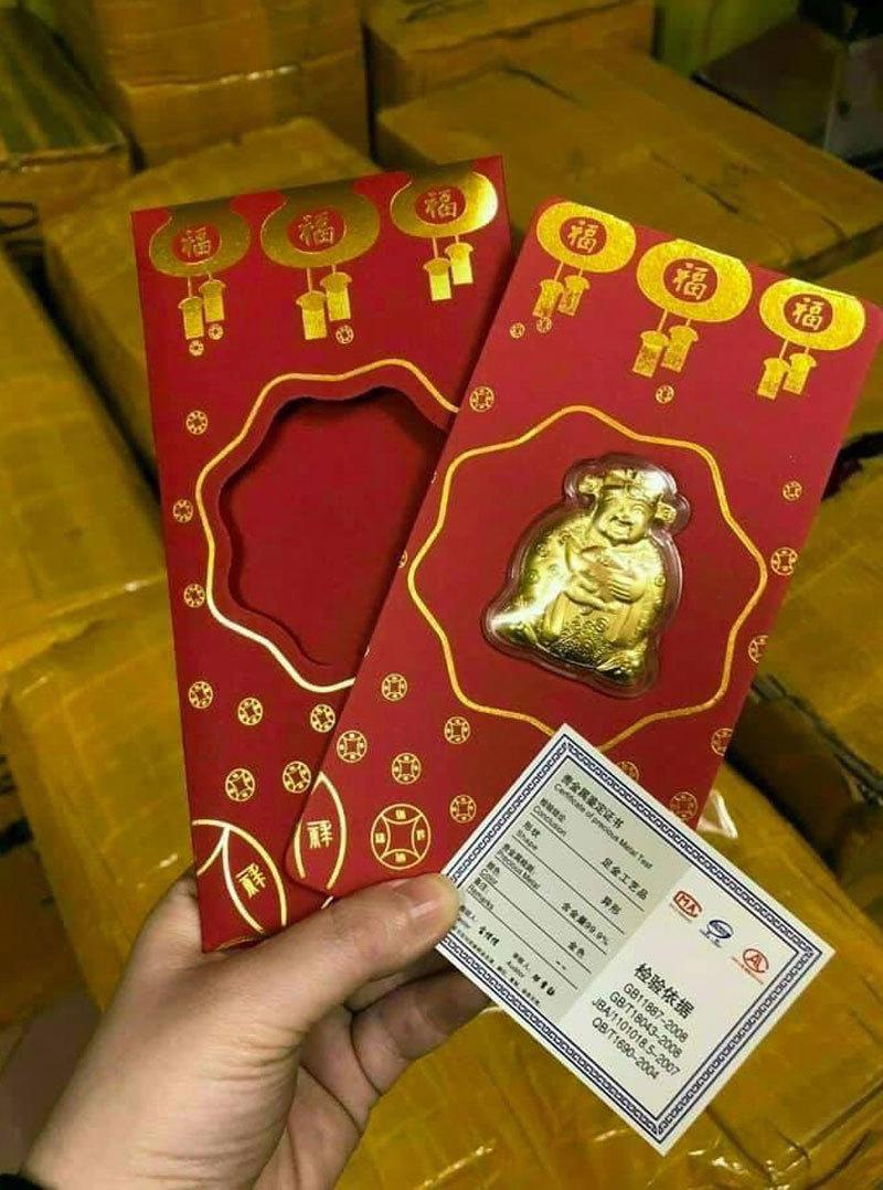 Trâu vàng Trung Quốc, Thần tài bên Tàu tràn sang chợ Việt giá 10.000 đồng