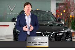 VinFast nhận giải 'hãng xe có cam kết cao về an toàn' ASEAN NCAP