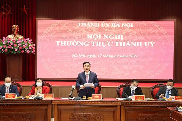 Bí thư Hà Nội: Khắc phục tình trạng 'đầu năm đủng đỉnh, cuối năm vội vàng'