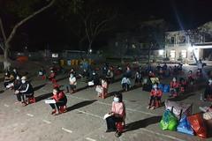 116 người ở TP Chí Linh hoàn thành cách ly trở về nhà đêm mùng 6 Tết