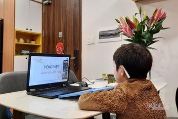 Hà Nội: Học sinh lớp 1, 2 có thể được miễn thi trực tuyến