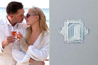 Bạn trai quỳ gối cầu hôn Paris Hilton bằng nhẫn kim cương 'khủng'