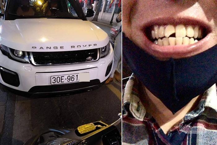 Diễn viên Huỳnh Anh mở cửa ô tô bất cẩn, 'hạ gục' xe máy trên phố Tràng Thi