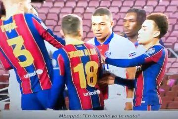 Mbappe gây sốc, đòi giết Jordi Alba của Barca