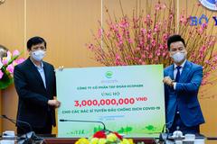 Ecopark dừng quảng cáo và sự kiện Tết ủng hộ Hải Dương chống dịch Covid-19
