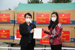 Hà Nội hỗ trợ Hải Dương 2 tỷ đồng phòng, chống dịch Covid-19