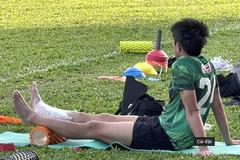 Lee Nguyễn bị đau, bỏ dở buổi tập cùng CLB TPHCM