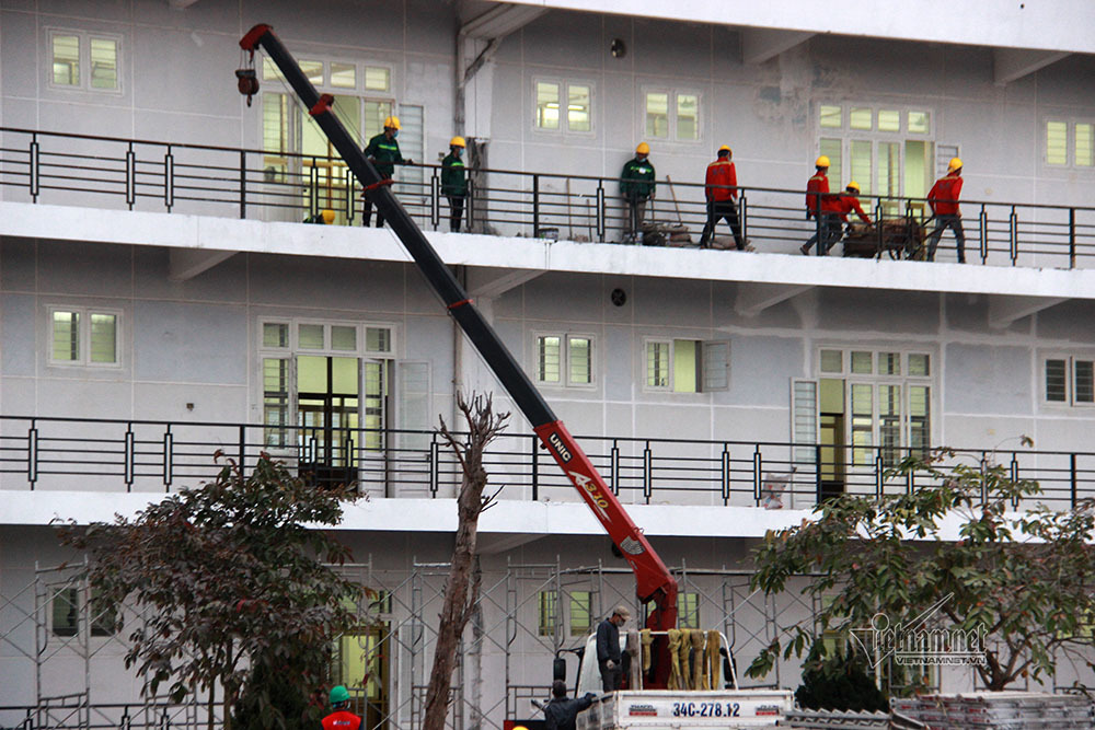 Bệnh viện dã chiến số 3 Hải Dương đi vào hoạt động trong hôm nay