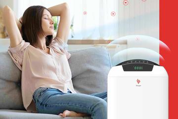 Lý do chọn máy lọc không khí có ion âm cho gia đình