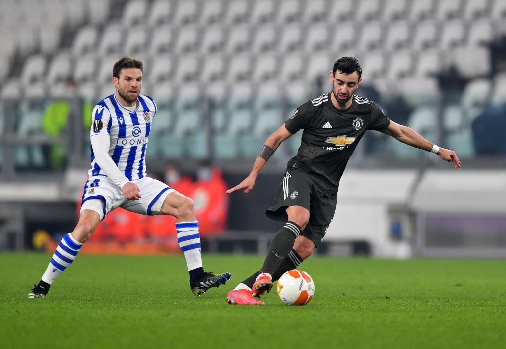 Bruno Fernandes bày tỏ nỗi lòng ở MU sau cú đúp Europa League