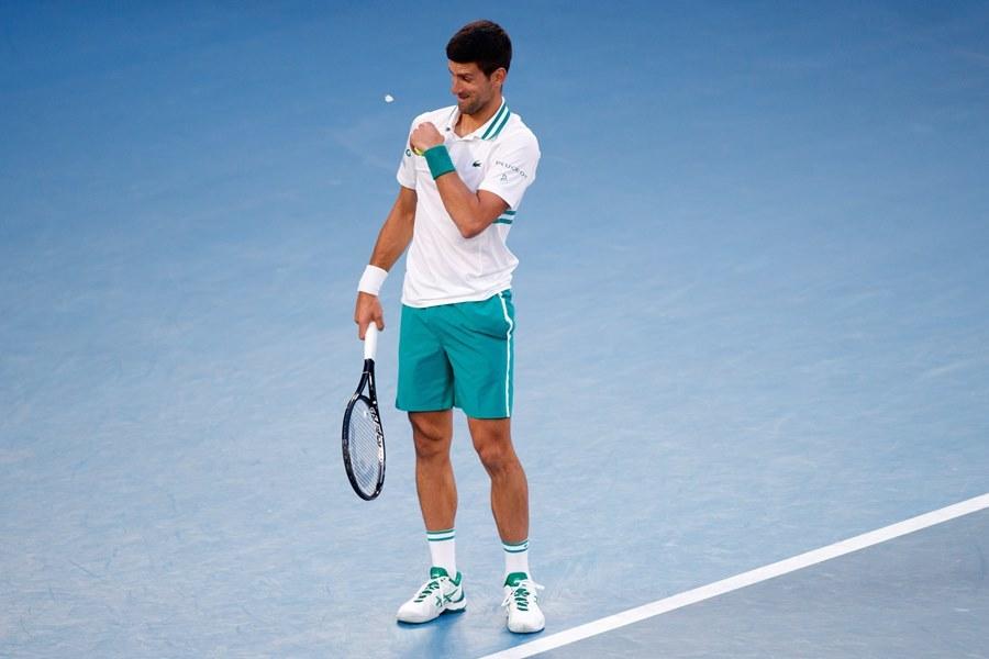Djokovic bị 'khách không mời' phá đám