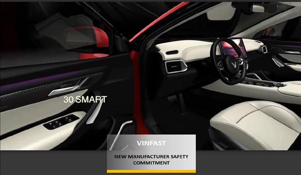 VinFast khẳng định vị thế với giải thưởng mới từ ASEAN Ncap