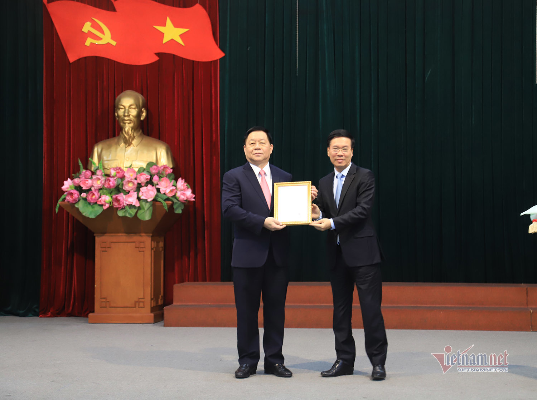 Thượng tướng Nguyễn Trọng Nghĩa giữ chức Trưởng Ban Tuyên giáo Trung ương