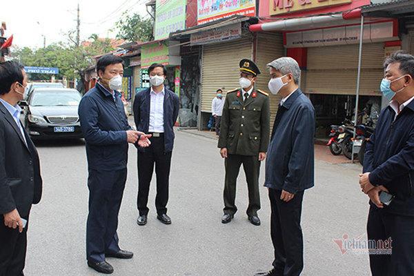 Bí thư, Chủ tịch huyện ở Hải Dương bị phê bình vì lơ là chống dịch