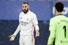 Real đen đủi, Benzema nguy cơ lỡ trận Atalanta