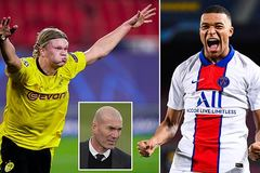 Zidane nói gì khi được hỏi thích Mbappe hay Haaland hơn