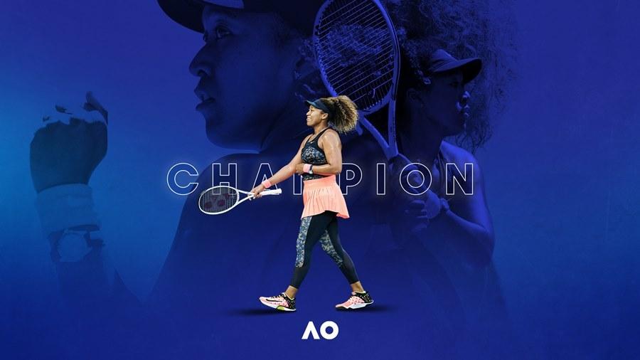 Naomi Osaka lần thứ hai vô địch Australian Open