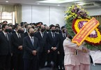 Party and State leaders pay last respects to former Deputy PM Truong Vinh Trong