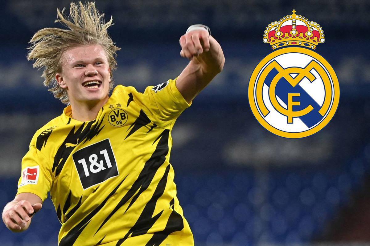 Real Madrid tung độc chiêu ký Haaland